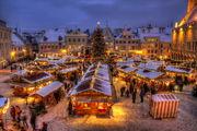 Рождественская ярмарка в Таллине / Латвия