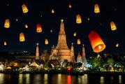 Церемония встречи Нового года в Таиланде / Латвия