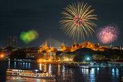 Новогодние фейерверки / Латвия
