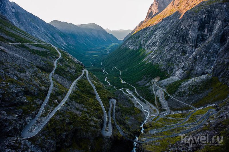 Лестница Троллей / Фото из Норвегии