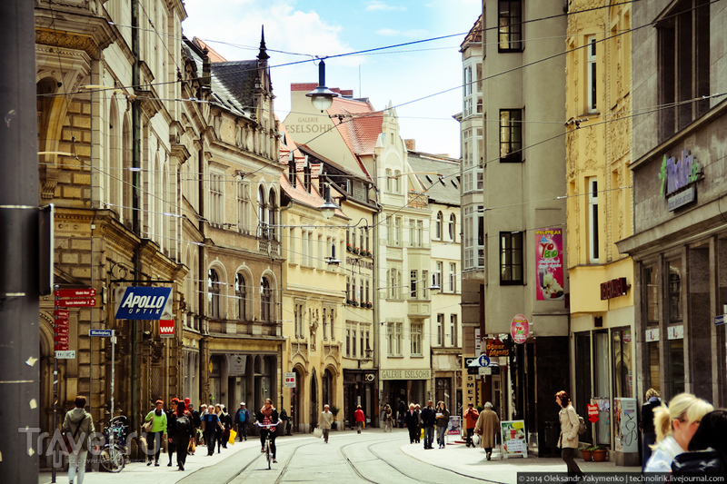 Прогулка по Halle (Saale) / Фото из Германии