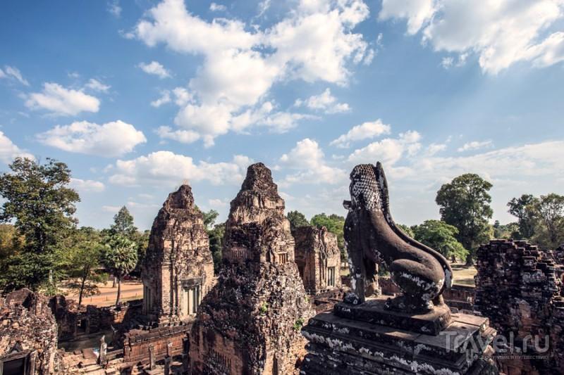 Камбоджа. Ночной Ангкор Ват / Фото из Камбоджи