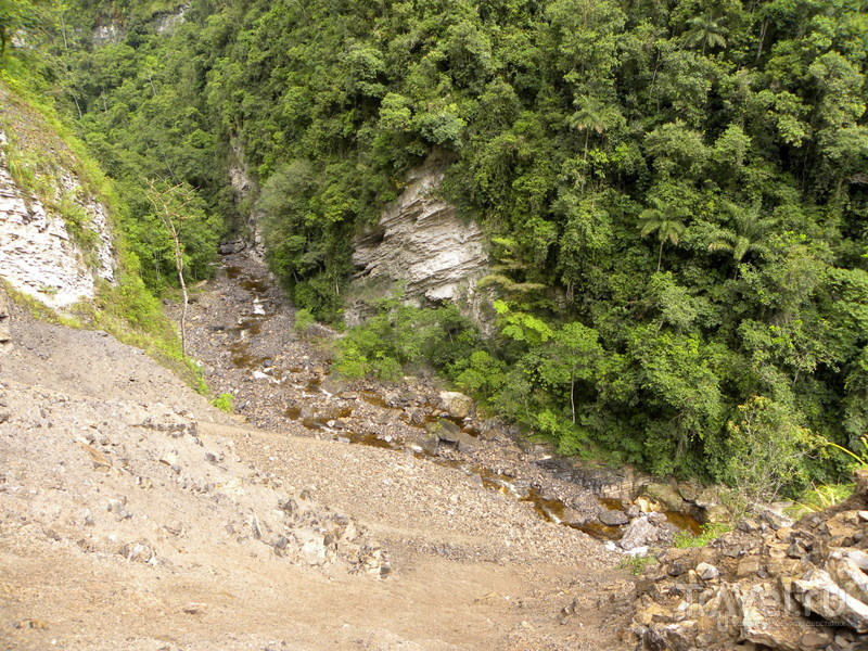 Un gran viaje a América del Sur. Перу. Амазонас. Водопад Гокта - третий по высоте в мире / Перу