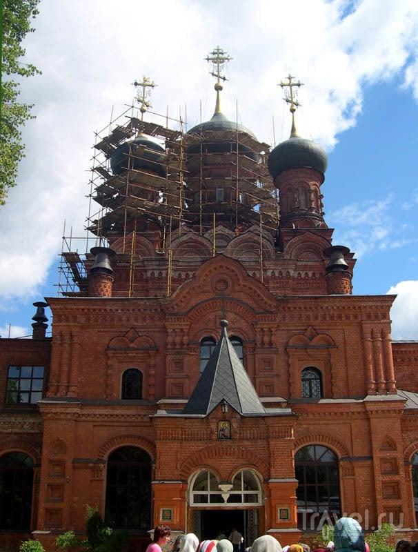 Черниговский храм в Черниговском скиту