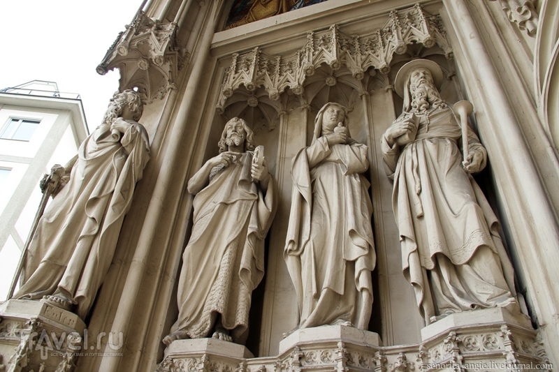 Анкерные часы и Старая городская ратуша Вены / Австрия