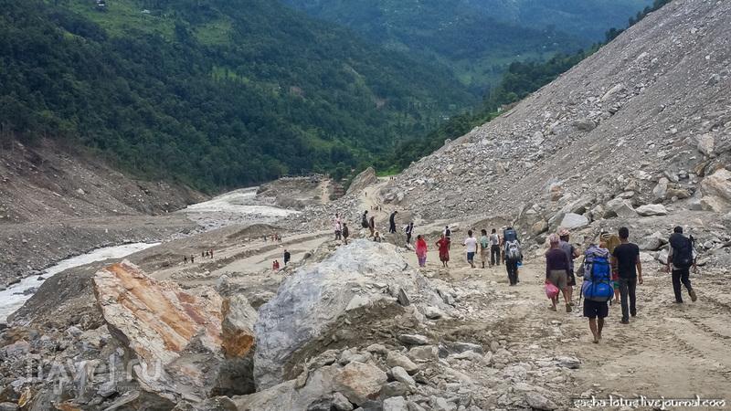 Оползень в Непале: репортаж с места трагедии / Непал