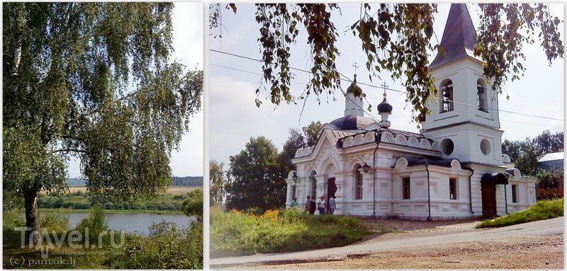 Таруса. Достопримечательности и музей Марины Цветаевой / Россия