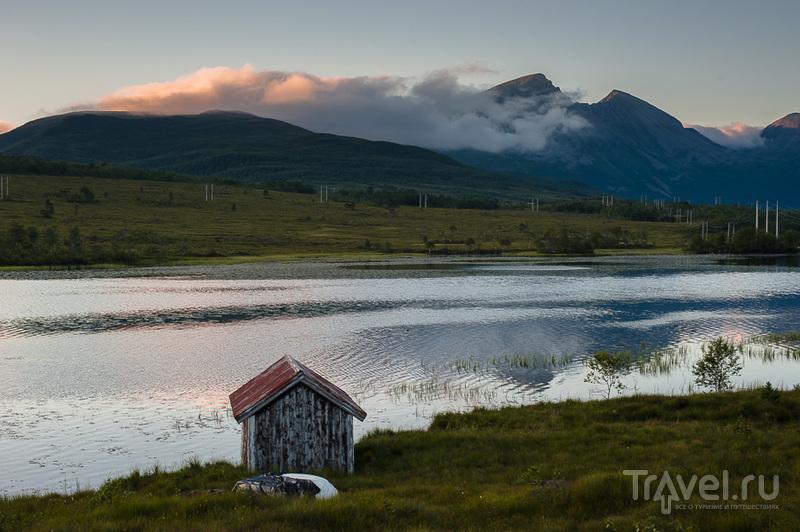 Ночевка в кемпинге и переправа в Мольде / Норвегия