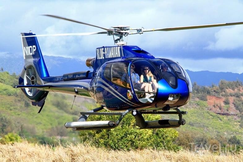 Полет над островом Кауаи / Фото из США
