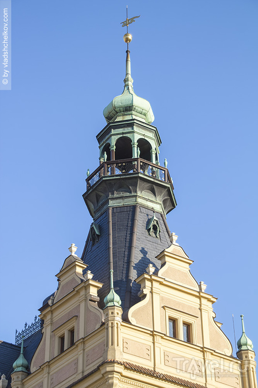 Башни и крыши Пльзни / Чехия