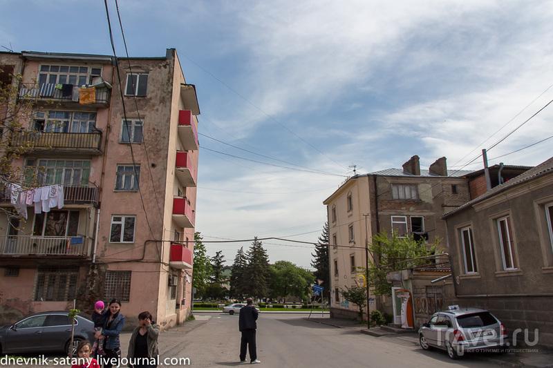 Гори, Грузия: прогулки по улицам / Фото из Грузии