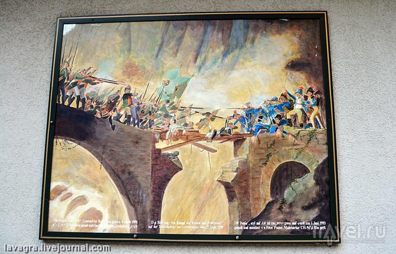 Пьянящая красота Чёртова моста или откуда появилось пять соток русской земли в центре Швейцарии / Фото из Швейцарии