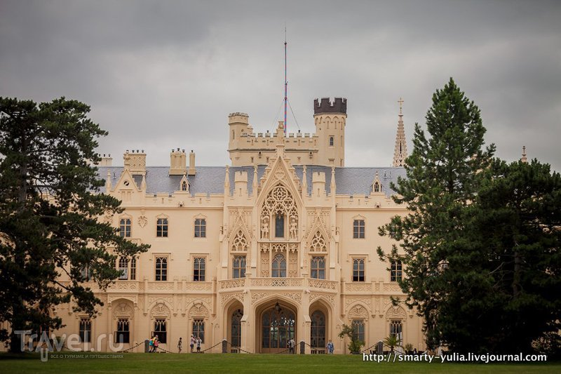 Чехия: сказочный замок Леднице / Чехия
