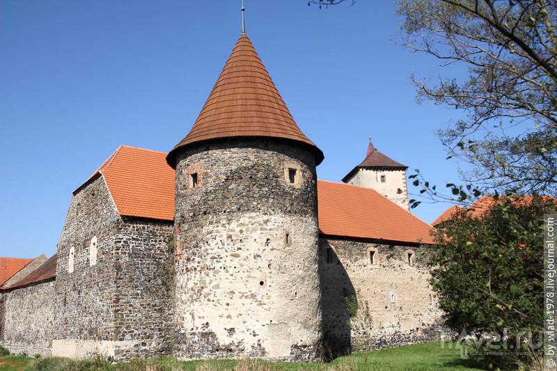 Замок Швихов и одноимённый город / Чехия
