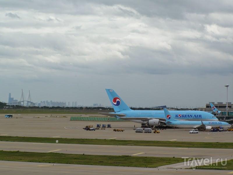 Южная Корея. Аэропорт Инчхон. И вообще об аэропортах / Сингапур