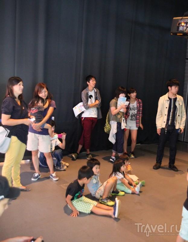 Япония, Одайба: туалетная выставка, гандам и другие / Япония