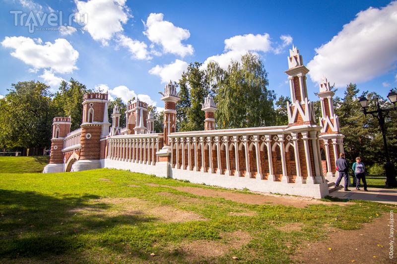 Царицыно: прекрасное место отдыха в Москве / Россия
