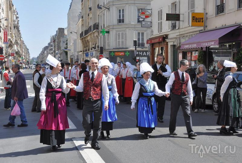 Бретонцы в Париже / Франция