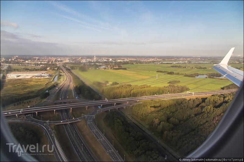 Перелет Бирмингем - Амстердам / Великобритания