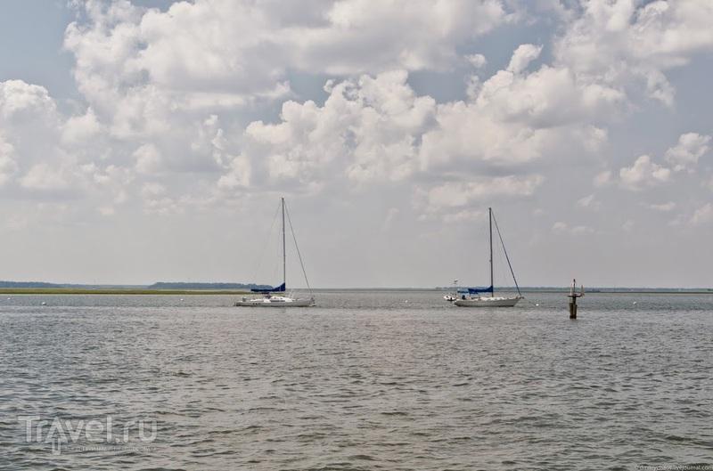 Из Флориды в Джорджию под парусами / Фото из США