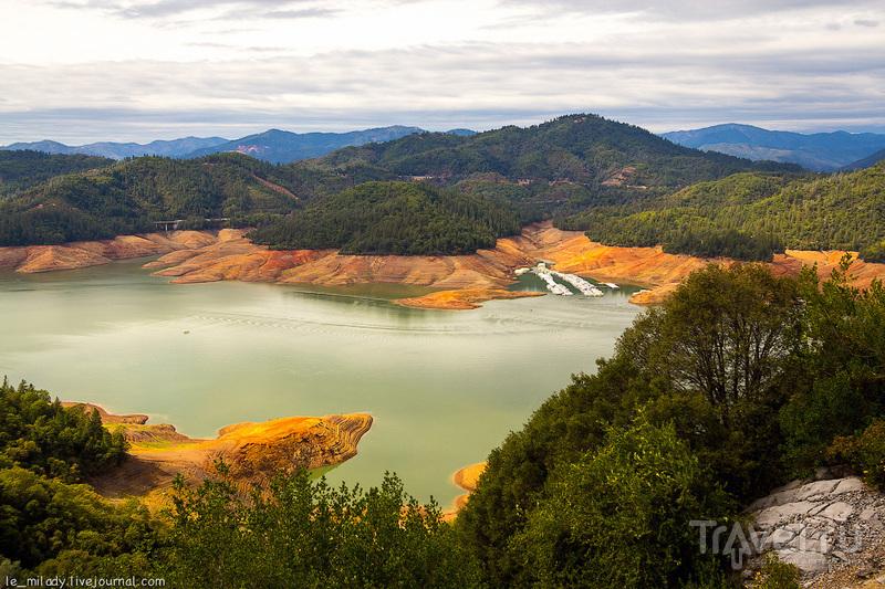 История одного высохшего озера / Фото из США