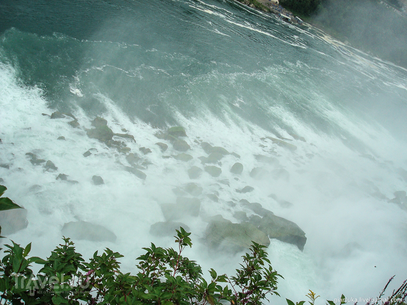 Ниагарский водопад. Сторона США / Фото из Канады