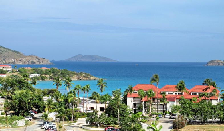 Карибский остров Сент-Томас / Фото с Виргинских островов (США)