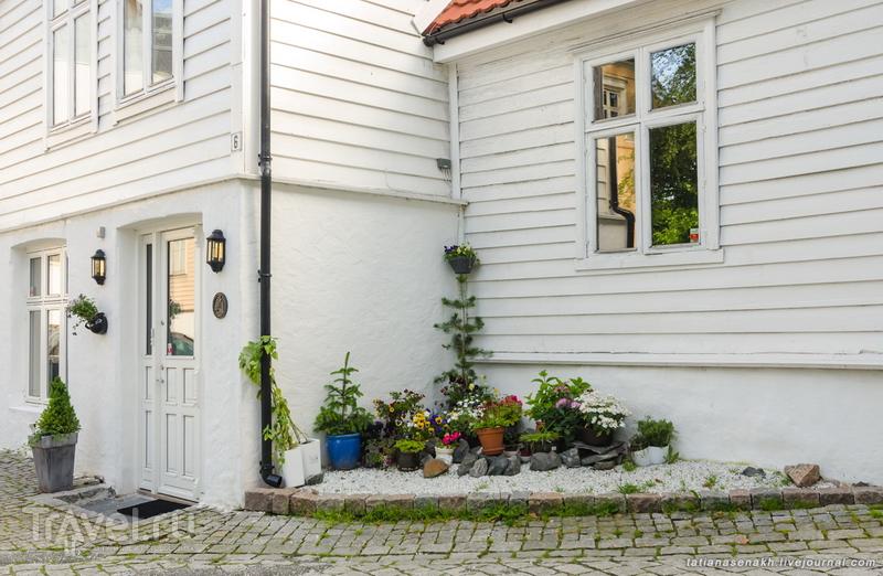 Июльское утро в Бергене / Норвегия