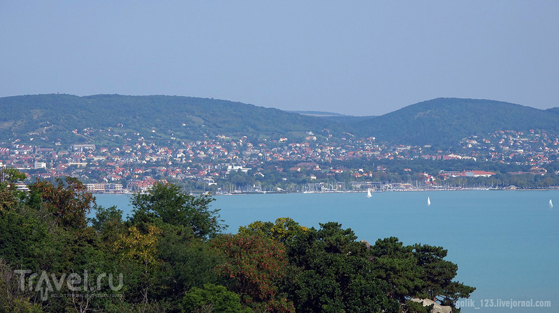 На озере Балатон / Фото из Венгрии