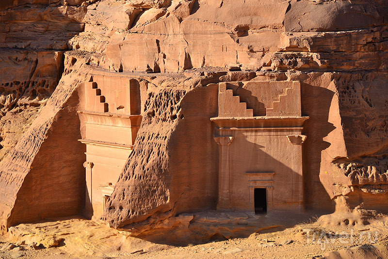 Набатейские строения в Саудовской Аравии / Саудовская Аравия