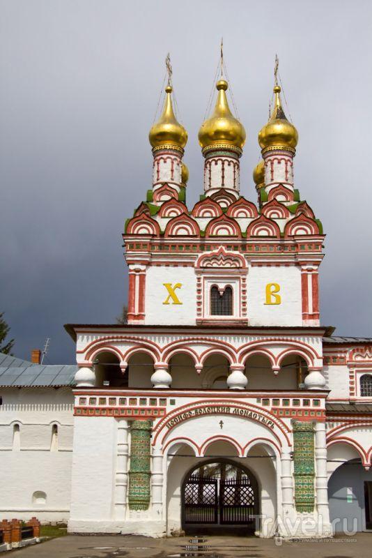 Храм в Иосифо-Волоцком монастыре