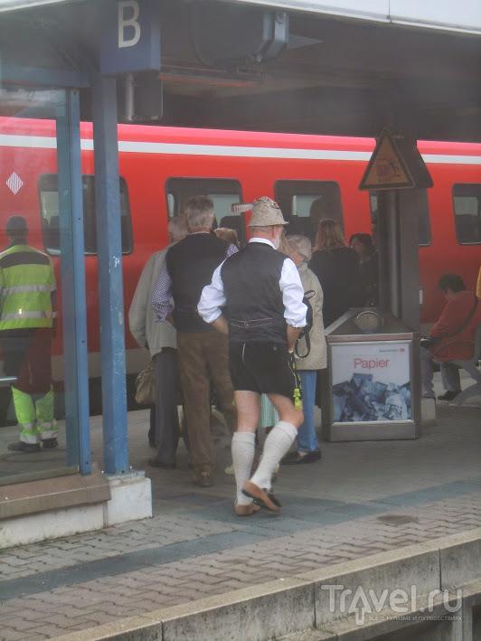 Мюнхен во время Октоберфеста / Германия