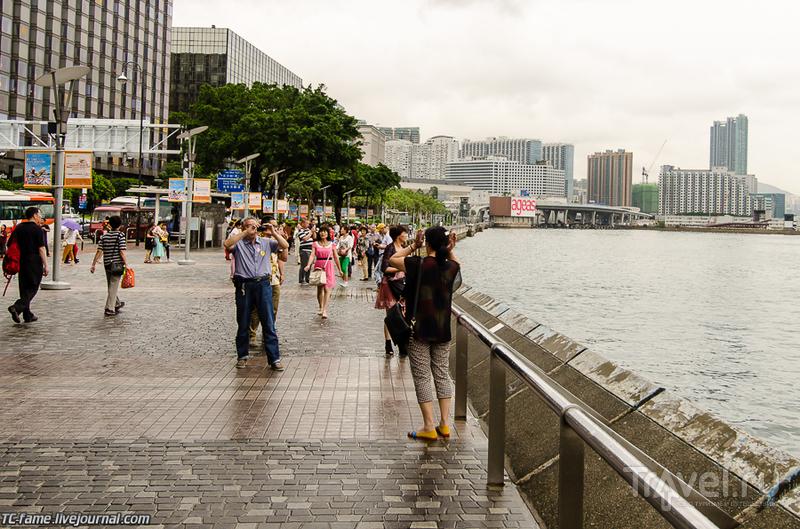 Гонконг. Набережная Цим Ша Цуй и Аллея звезд / Фото из Гонконга