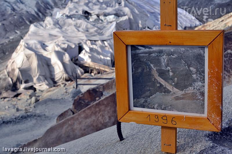 Последнее столетие Ронского ледника в Швейцарии / Фото из Швейцарии