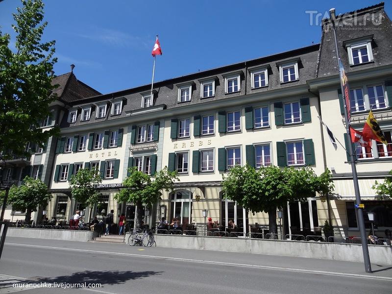Солнечный Интерлакен / Фото из Швейцарии
