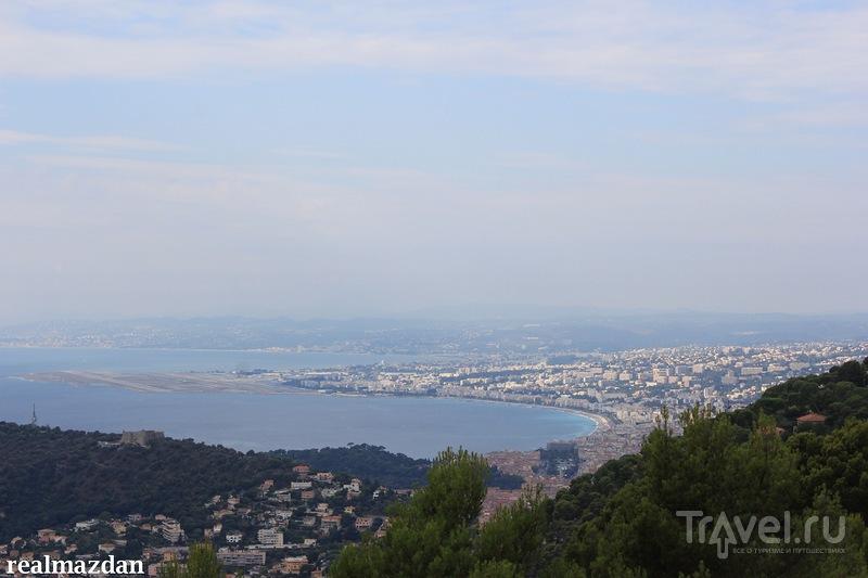 Плато Сан-Мишель. Взгляд сверху на Кап-Ферра / Франция