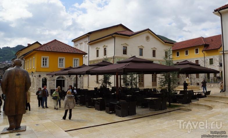 Красивый горный край. Андричград в Вышеграде / Босния и Герцеговина