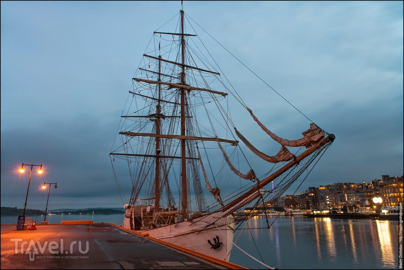 Around the Norge. Огни Осло / Фото из Норвегии