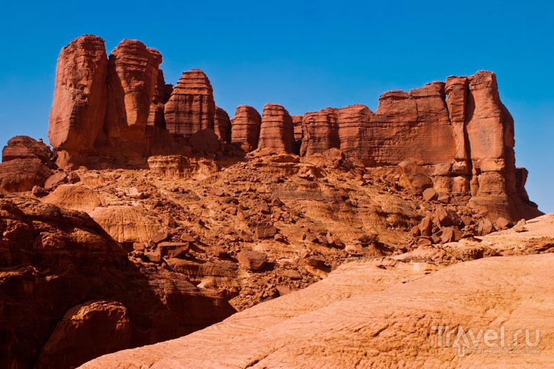 Площадь геологических аномалий – 60 тысяч квадратных км / Чад