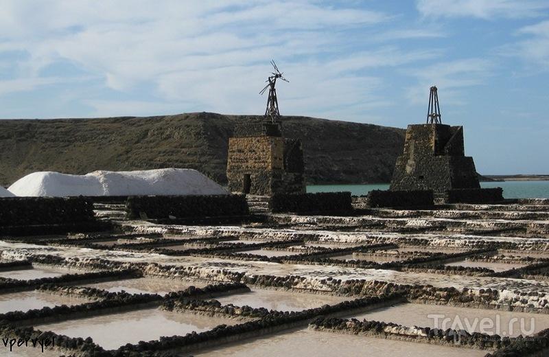 Las Salinas de Janubio (соляные пруды) в Ланзароте / Испания
