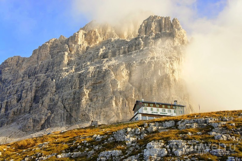 Südtirol, Indian Summer in the Dolomites. Хат Lavarella и Lagazuoi / Фото из Италии