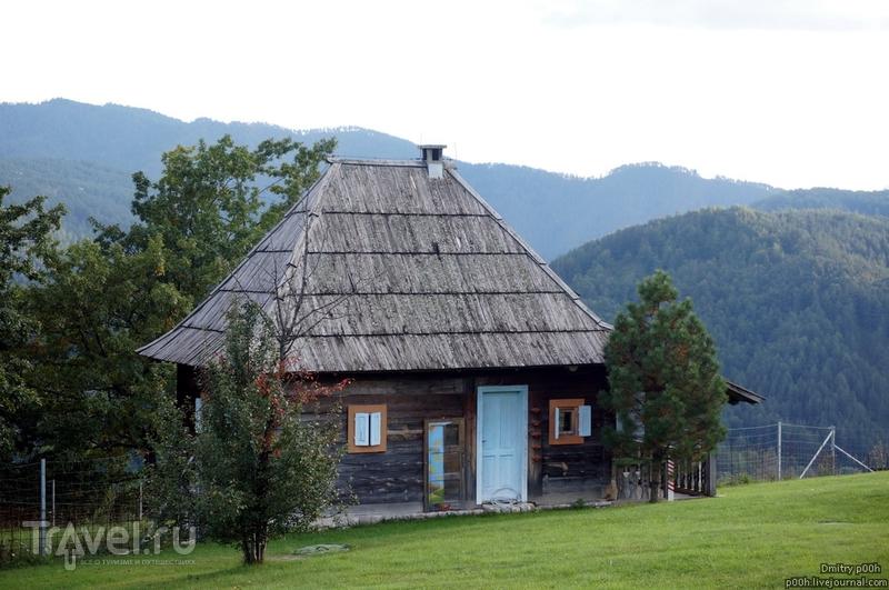 Красивый горный край. Сербия. Деревня Кустурицы / Фото из Сербии