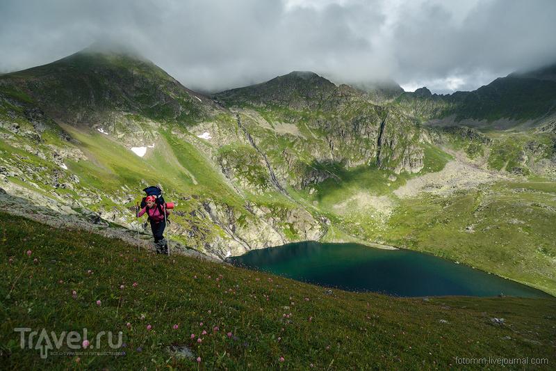 Кавказ. К озеру Голубому / Фото из России