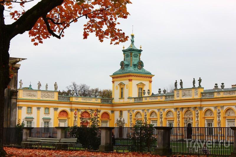 Осень в Варшаве / Фото из Польши