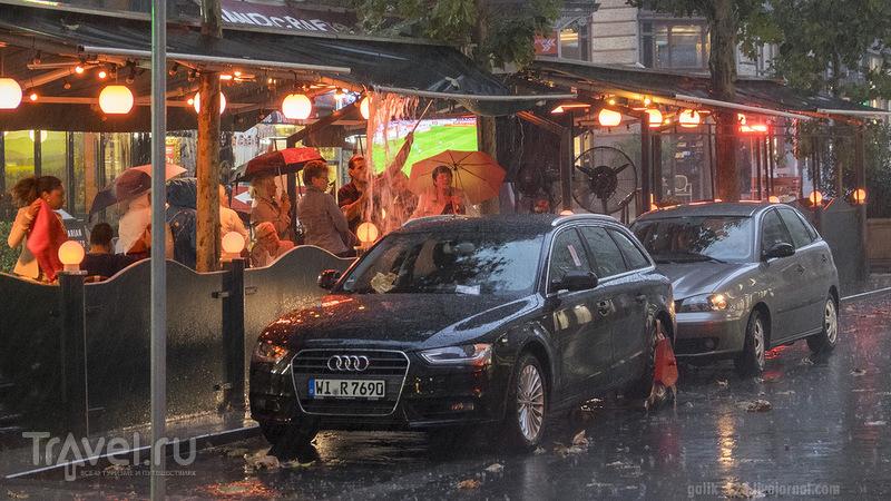 Будапешт под дождём / Венгрия