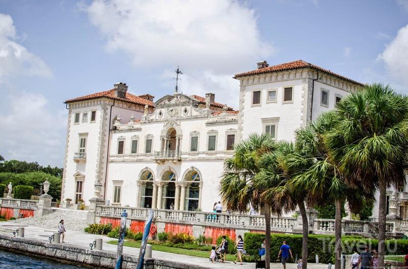 Вилла Вискайя в Майами / США