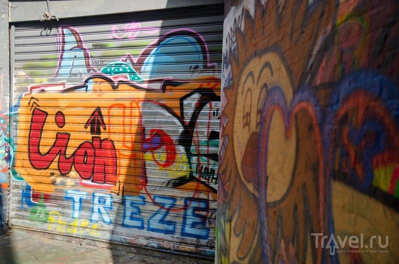 Улочка граффити в Генте / Бельгия