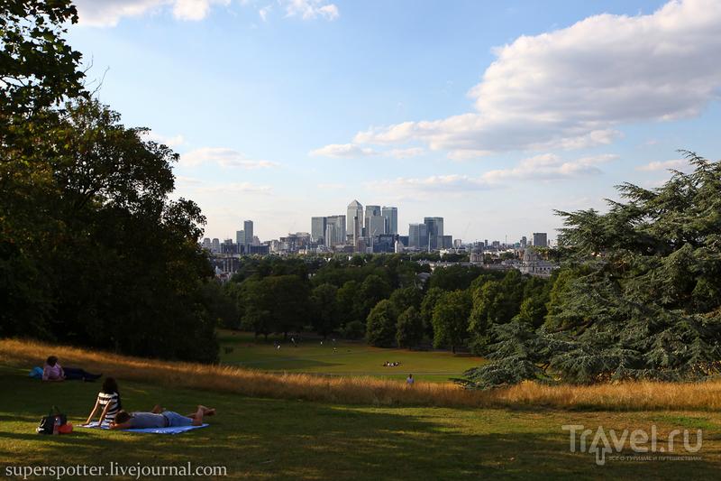 Лондон. Greenwich Park / Великобритания