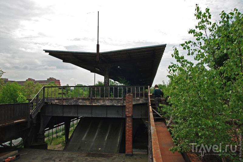 Сименсбан – заброшенная ветка берлинской городской электрички / Германия