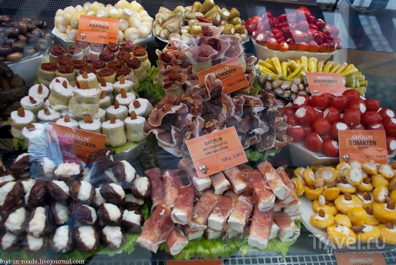 Рынок Naschmarkt / Австрия